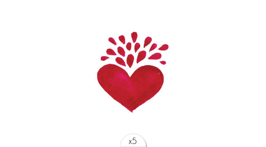 Heart x5