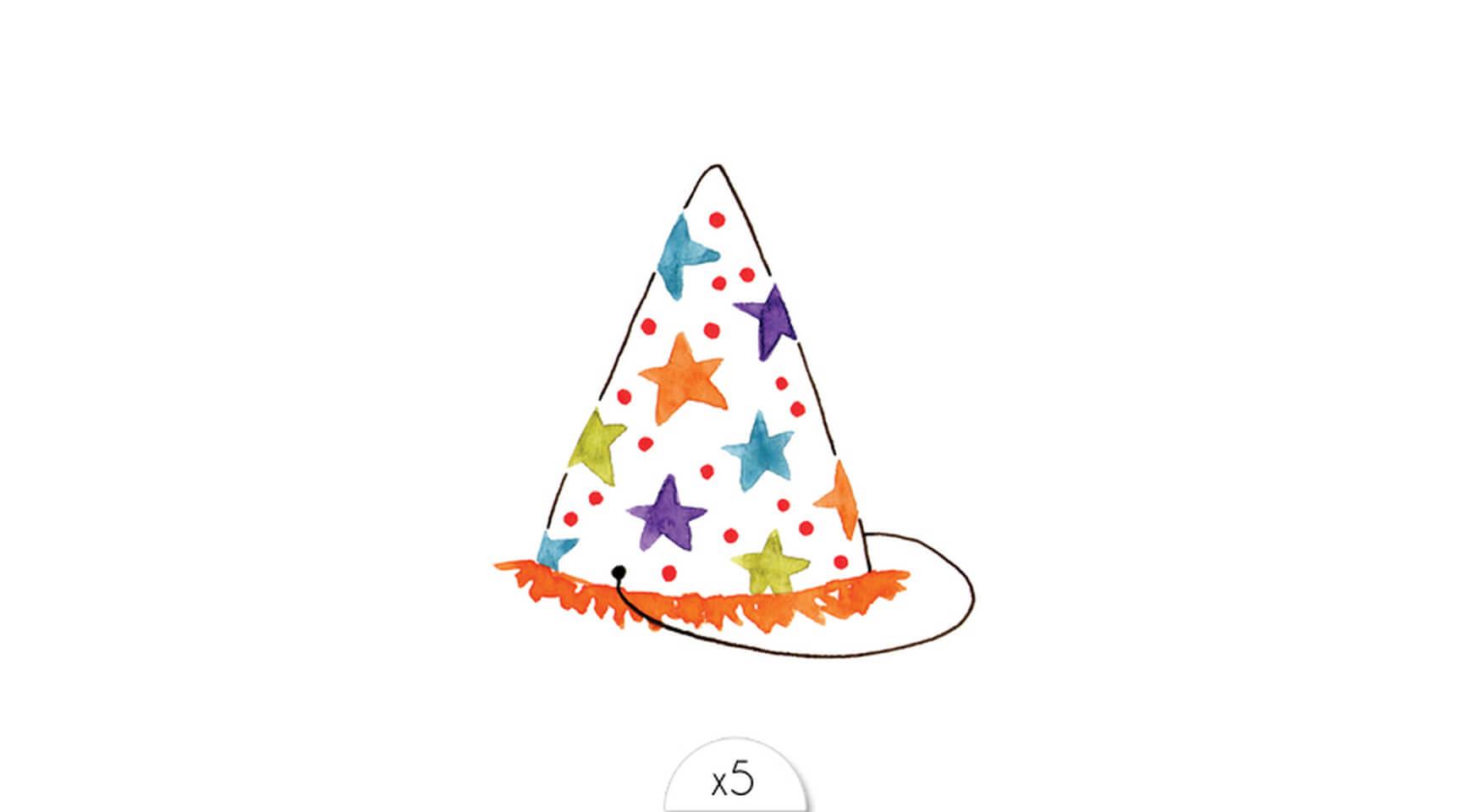 Chapeau Sioou Enfant Tatouage Temporaire D'anniversaire iPuTOkXZ