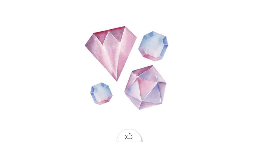 Pierres précieuses x5
