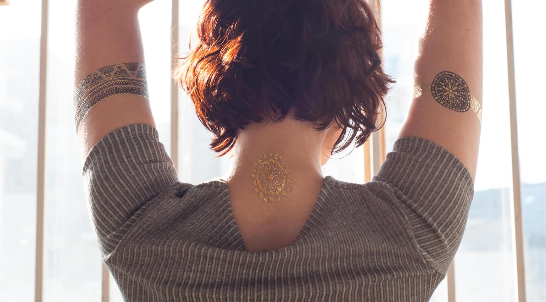 Golden Mandala Sioou Tattoo