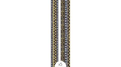 Ethnic bracelet x5
