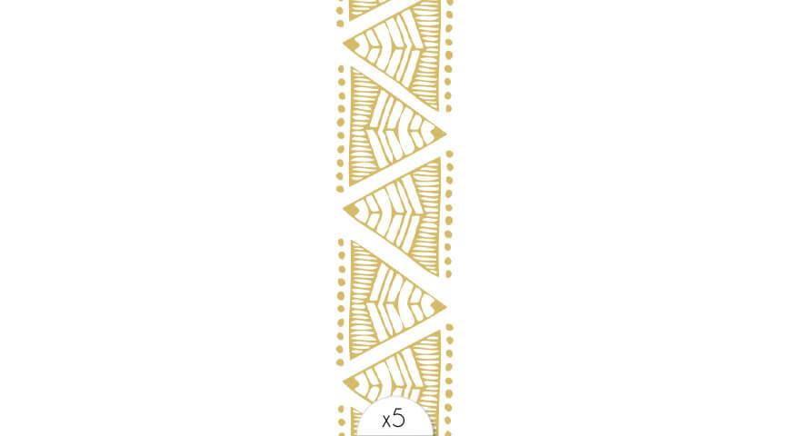 Bracelet ethnique or II x5