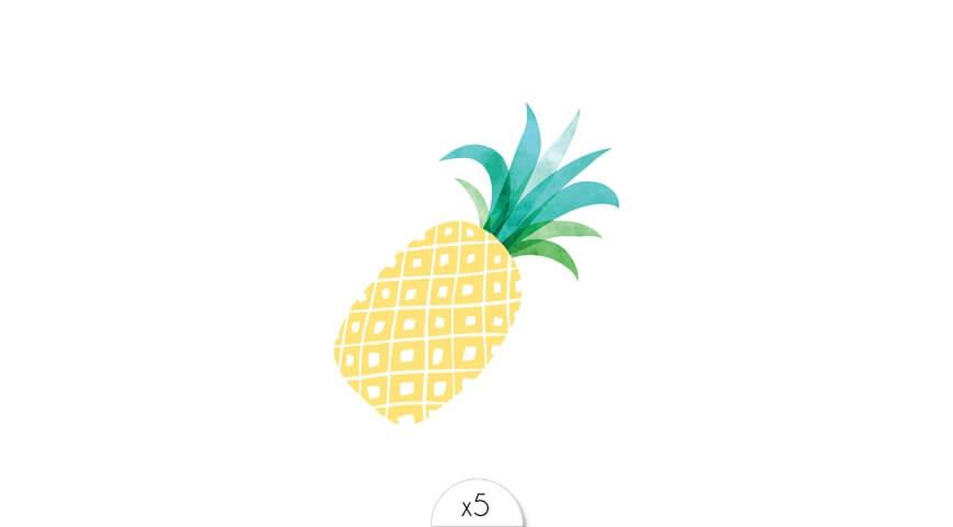 Ananas doré x5