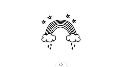 Arc en ciel x5