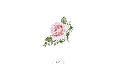 floral bouquet x5