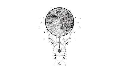 Cosmic dreamcatcher x5
