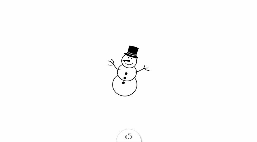 Snowman x5