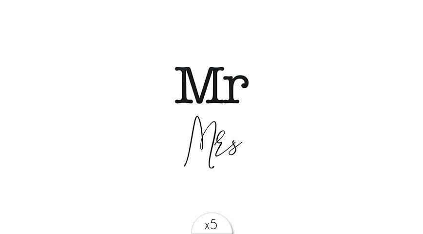 Mr & Mrs x5