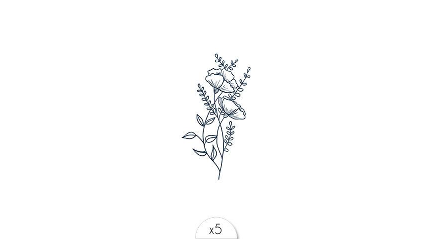 Floral x5
