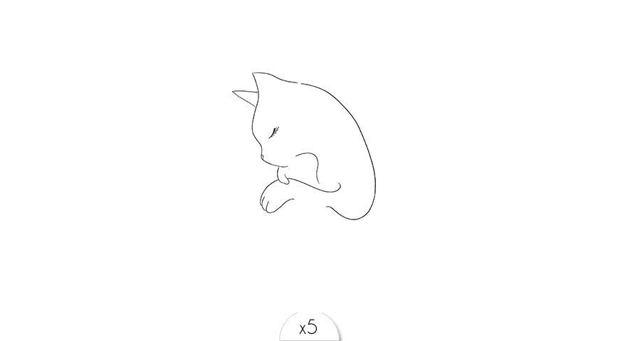 Tête de chat x5