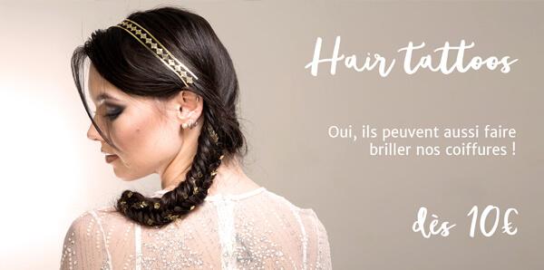 Hair tattoos : les tatouages pour les cheveux