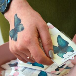 Tous les tatouages papillons