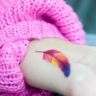 Tous les tatouages plume